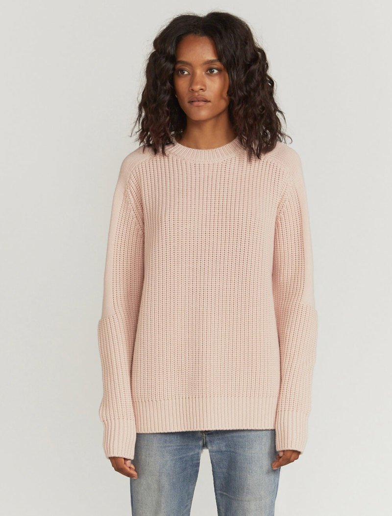 Oversized cashmere-blend sweater