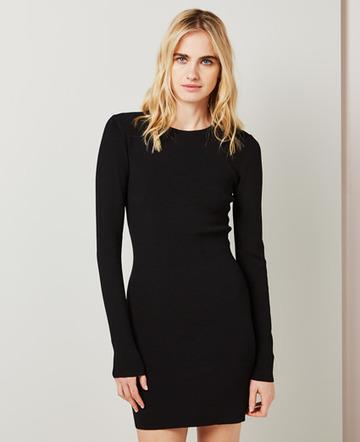 Milano knit mini dress