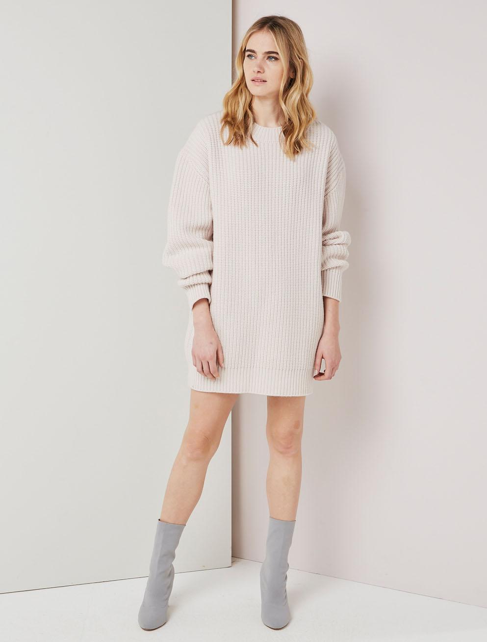 cashmere blend sweater dress