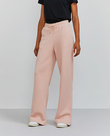 Wide-leg sweatpants