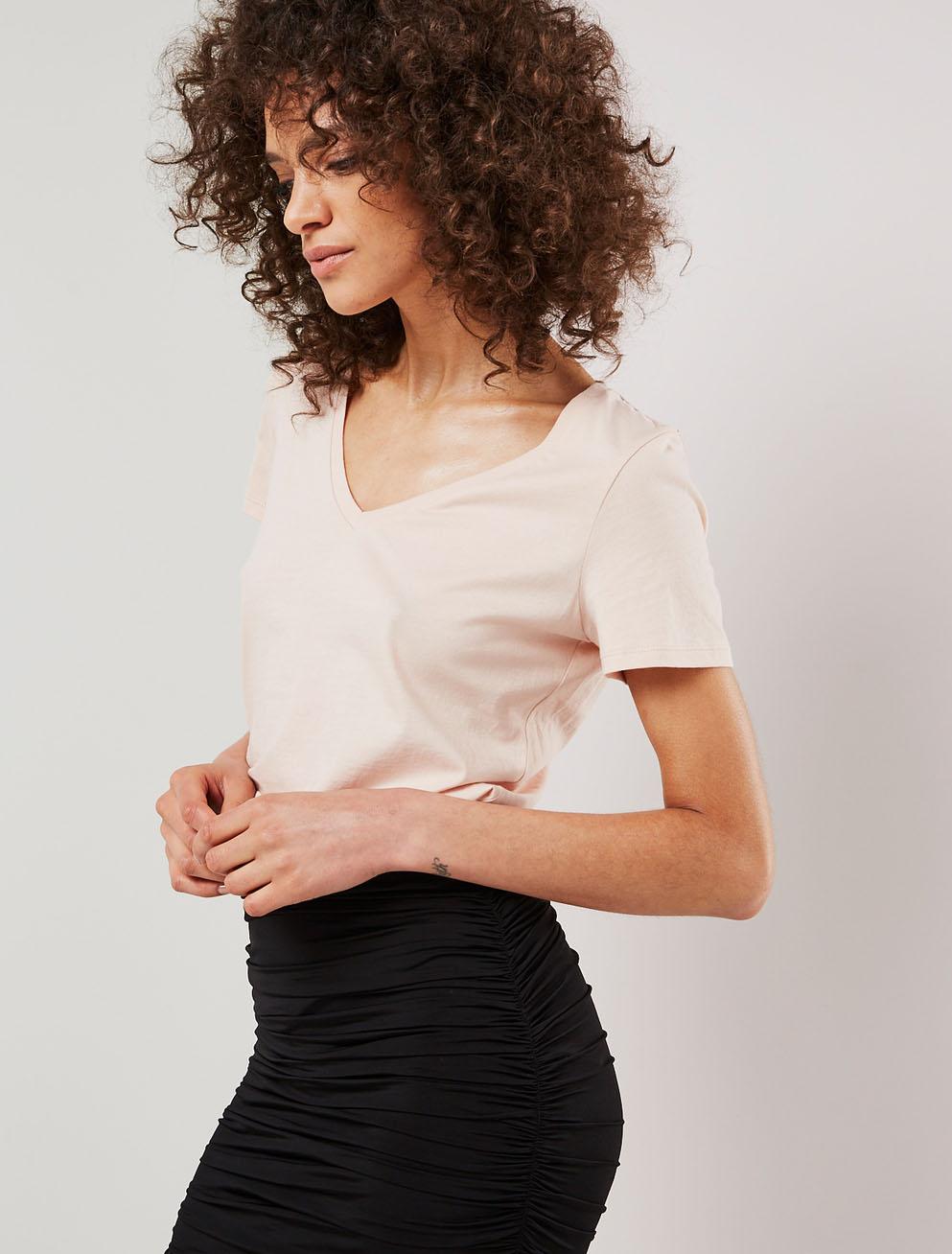 seam mini skirt