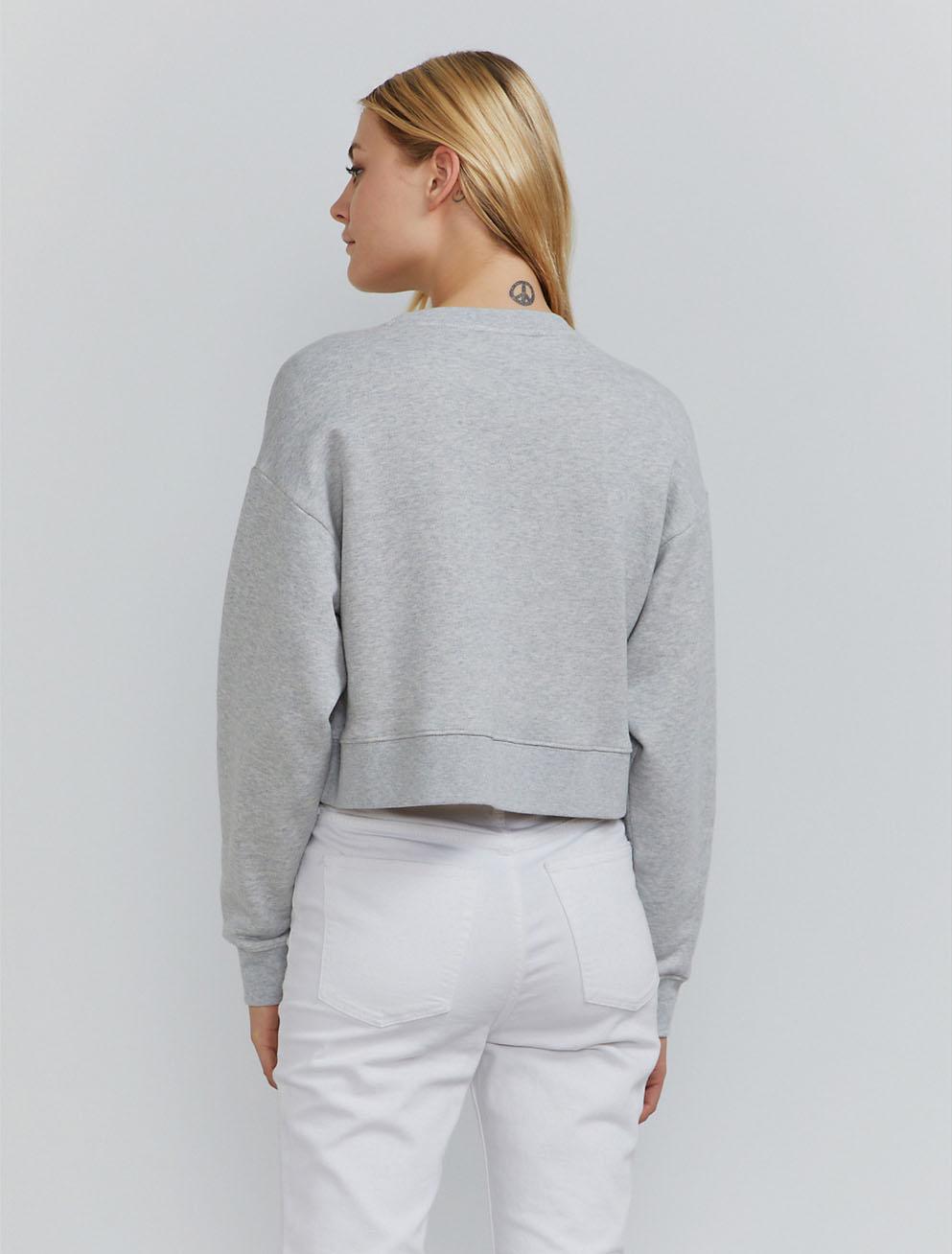Ginnie cropped sweatshirt