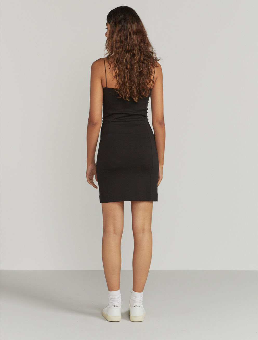 Bodycon panelled dress