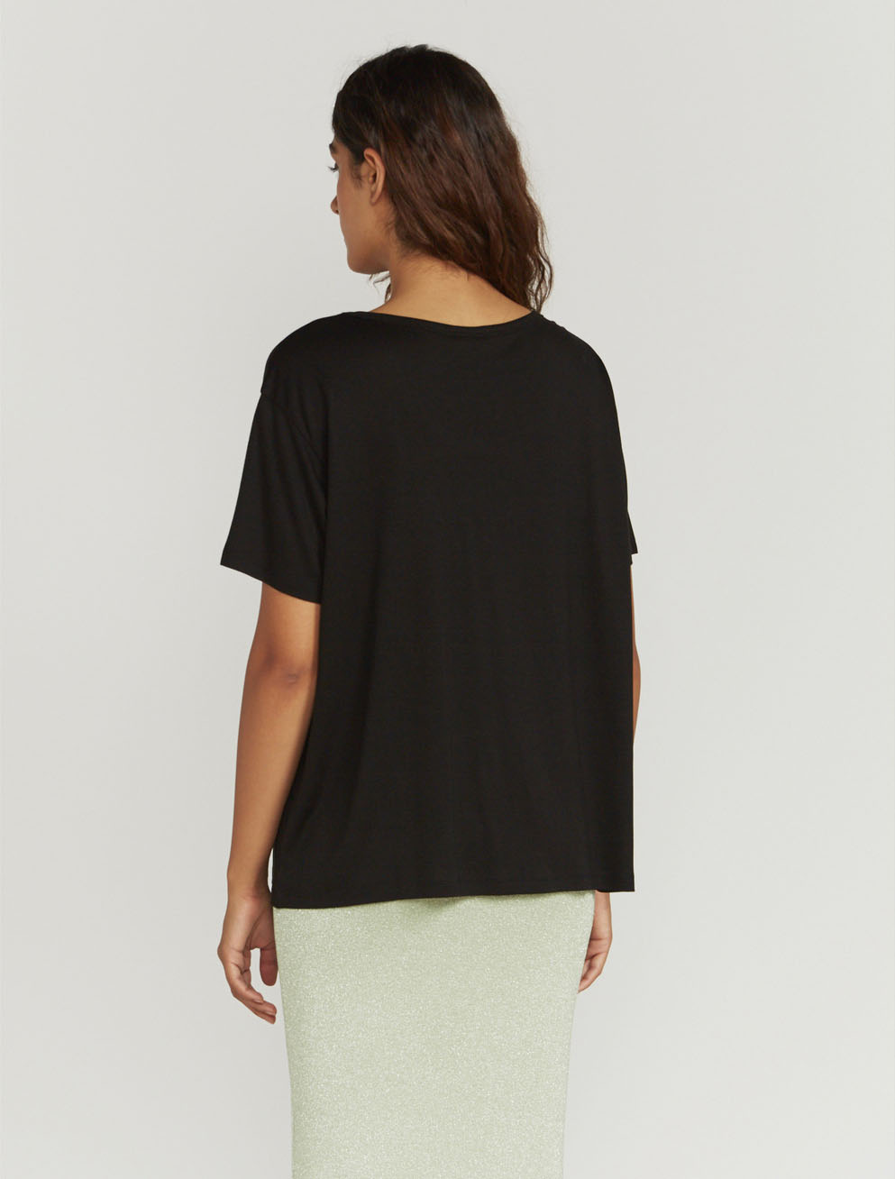 Stevie scoop-neck T-shirt