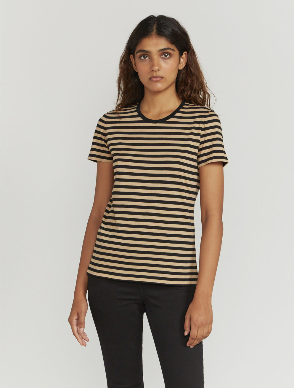 Striped classic-fit T-shirt