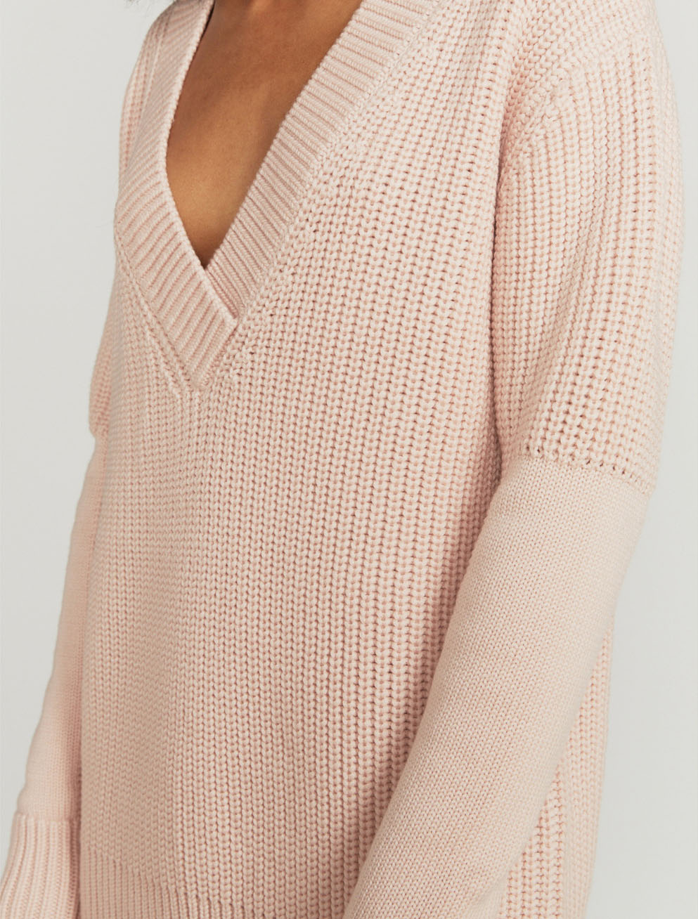 V-neck merino sweater