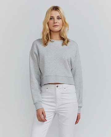 Ginnie cropped sweatshirt