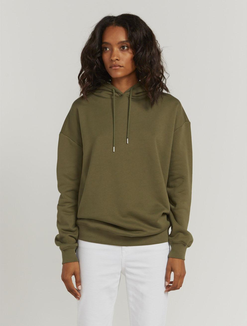 Organic cotton oversized hoodie
