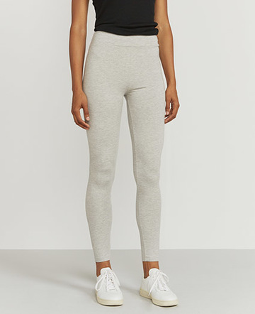 Stretch jersey leggings