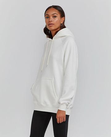 Organic cotton kanga-pocket hoodie