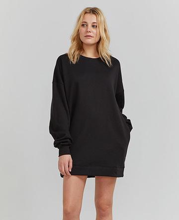 Organic cotton jumbo sweatshirt