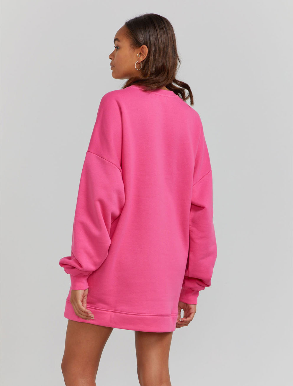 Organic cotton jumbo sweatshirt