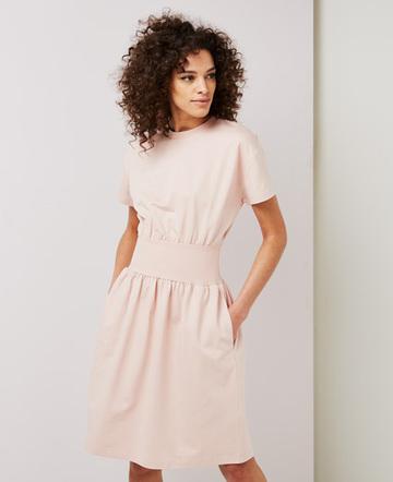 Sweatband waist dress