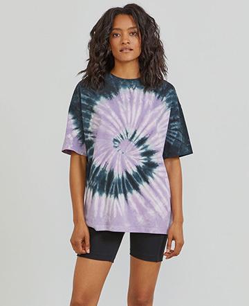 Organic cotton tie-dye oversized T-shirt