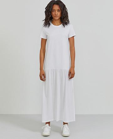 88ff3813df9 Organic cotton T-shirt maxi dress