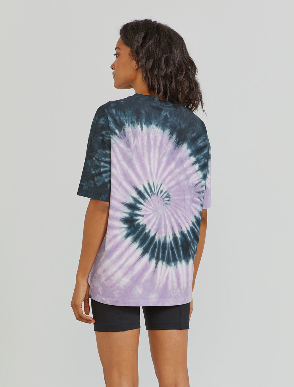 Organic cotton tie-dye oversized T-shirt