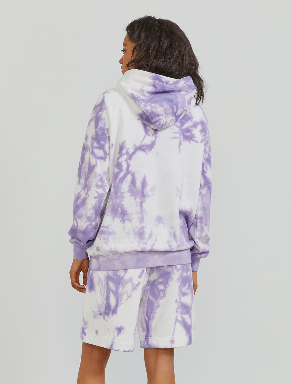 Organic cotton tie-dye hoodie