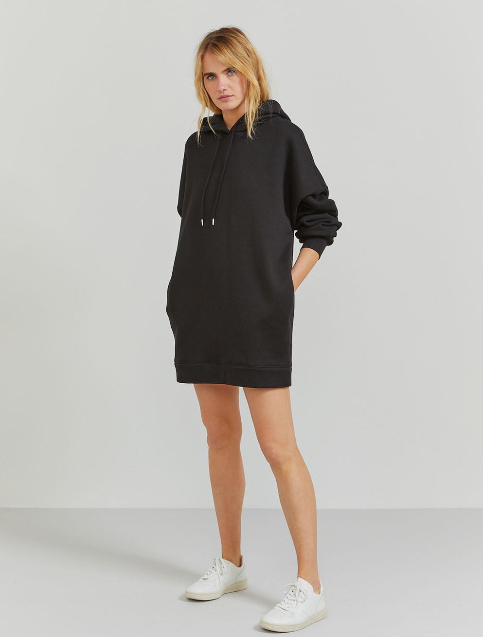Organic cotton jumbo hoodie