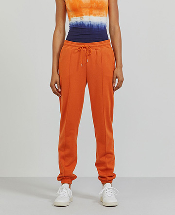 Organic cotton boy-fit sweatpants