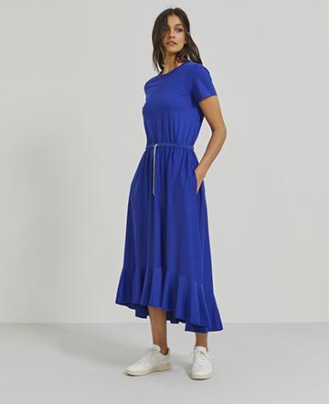Organic cotton tea dress