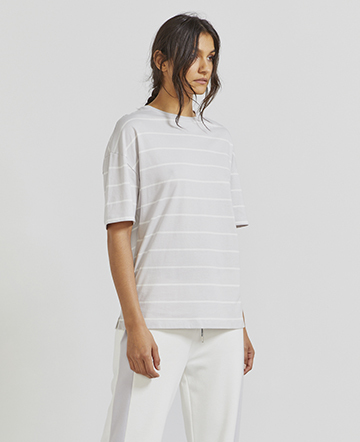 Organic cotton striped T-shirt