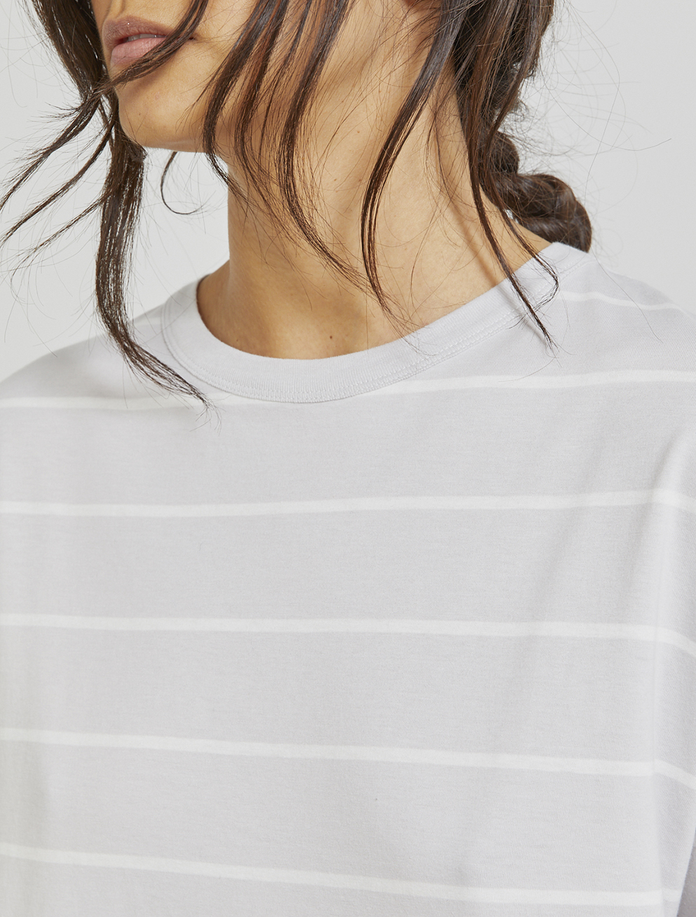Organic cotton striped T-shirt